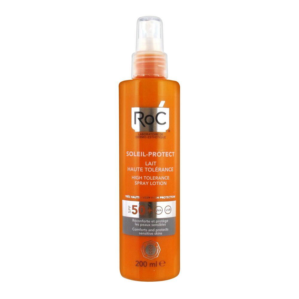 Roc Solari Lozione Spray Elevata Tollerabilità SPF50+ 200ml - Farmaconvenienza.it