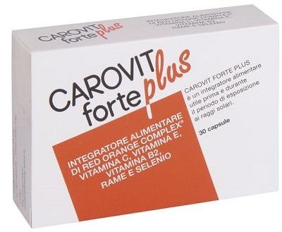 Carovit Forte Plus 30 Compresse  - Farmafamily.it