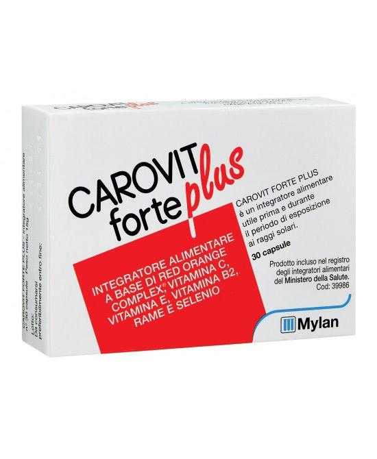 CAROVIT FORTE PLUS 30 CAPSULE - Farmaci.me