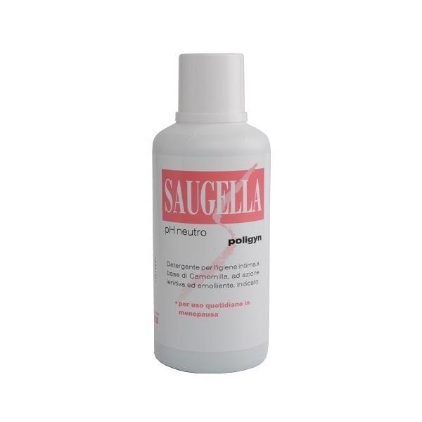 Saugella Poligyn Ph Neutro Detergente Intimo 500ml - Farmastar.it