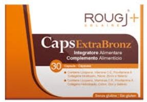 ROUGJ CAPSULE INTEGRATORE SOLARE 30 CAPSULE - Farmaciacarpediem.it