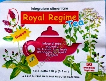 ROYAL REGIME TEA 50 BUSTINE 100 G - Farmacia 33