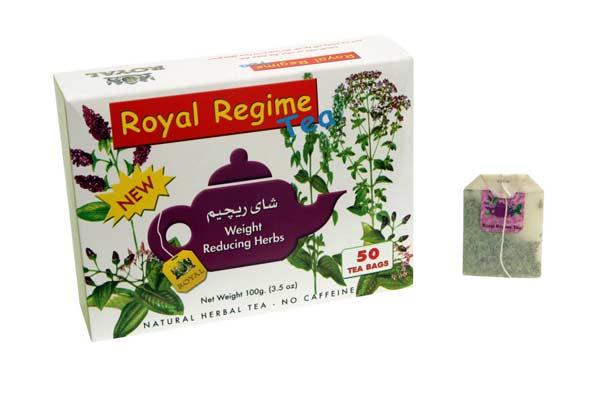 Royal Regime Tea 50 Bustine - Arcafarma.it