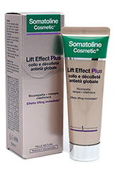Somatoline Cosmetic Lift Effect Plus Crema Antietà Globale Collo e Decolletè 50 ml - La tua farmacia online