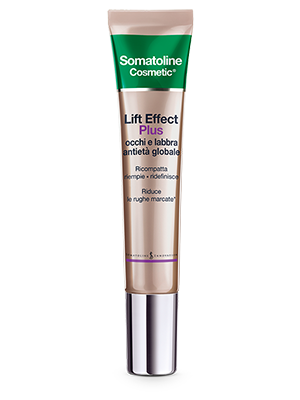 Somatoline Cosmetic Lift Effect Plus Occhi e Labbra Antietà Globale 15 ml - latuafarmaciaonline.it