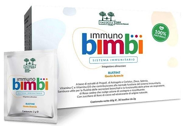 SALUGEA IMMUNO BIMBI 30 BUSTINE - Farmacia Centrale Dr. Monteleone Adriano