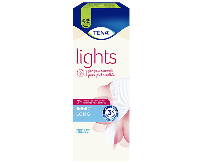 Tena Lights Long Proteggi Slip 20 pz - Farmacielo