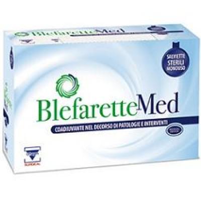 SALVIETTINE OCULARI MEDICATE BLEFARETTE MED 14 PEZZI - Farmafamily.it