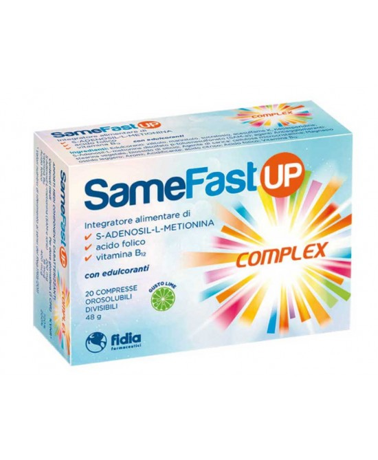 SAMEFAST UP 20 COMPRESSE OROSOLUBILI - Farmapage.it