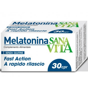 Sanavita Melatonina 30 compresse - Iltuobenessereonline.it
