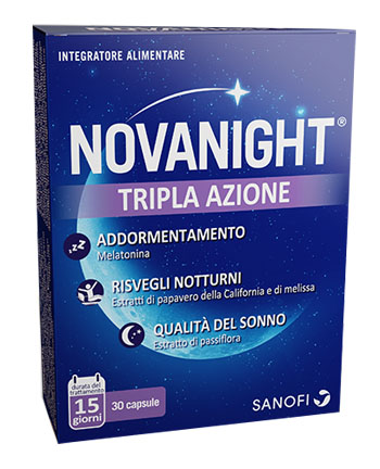 Sanofi Spa Novanight 16 Compresse - Farmafamily.it