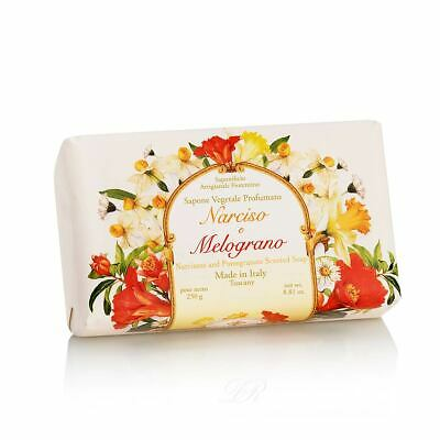 SAPONE VEGETALE PROFUMATO NARCISO E MELOGRANO 250 G - Farmapage.it