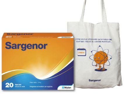SARGENOR 20 FIALE 5 ML + SHOPPER - Farmacia 33