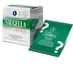 SAUGELLA COTTON TOUCH ASSORBENTI NOTTE 12 PEZZI - farmaciadeglispeziali.it