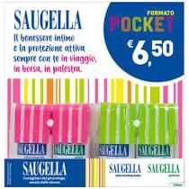 SAUGELLA POCKET FLACONE 100 ML + 100 ML 2013 -  Farmacia Santa Chiara