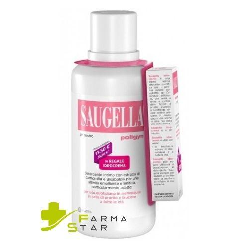 Saugella Poligyn 500 ml + Saugella Idrocrema 10 ml IN REGALO - Farmastar.it