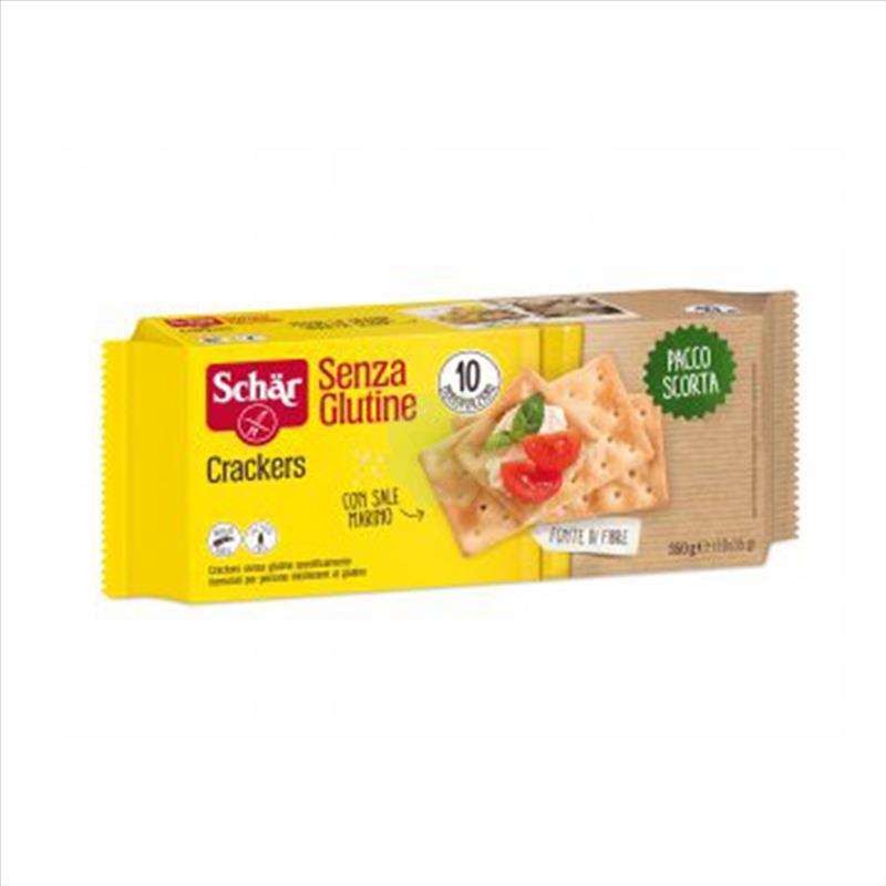 SCHAR CRACKERS 10 X 35 G - Farmapage.it
