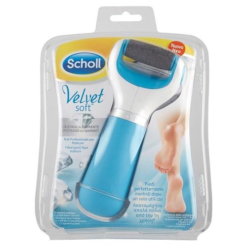 Scholl Velvet Soft Roll Professionale Per Pedicure Ricaricabile - Zfarmacia
