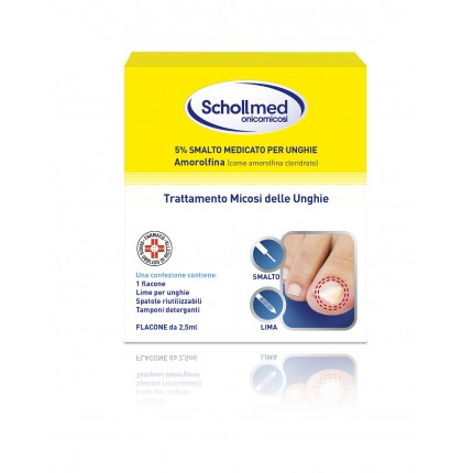 SCHOLLMED ONICOMICOSI*2,5ML 5% - pharmaluna