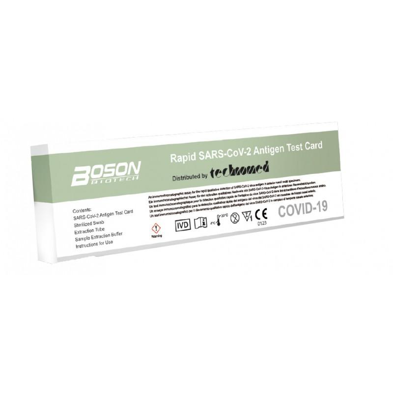SELF TEST COVID-19 ANTIGENICO TAMPONE RAPIDO NASALE USO PRIVATO 1 PEZZO - Farmafamily.it