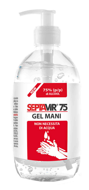SEPTAVIR 75 GEL MANI 500 ML IVA 0% -