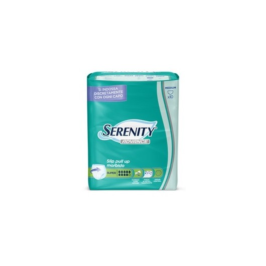 SERENITY PULL UP ADVANCE SUPER TAGLIA L 10 PEZZI - FARMAPRIME