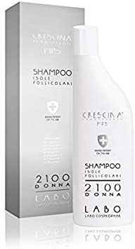 SHAMPOO CRESCINA ISOLE FOLLICOLARI DOPPIO TRATTAMENTO 2100 DONNA 150 ML - Farmaedo.it