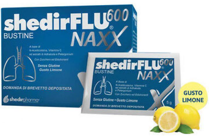 SHEDIRFLU 600 NAXX 20 BUSTINE - Farmacia Centrale Dr. Monteleone Adriano