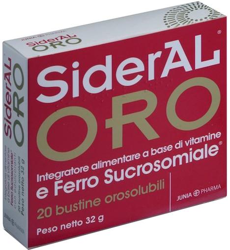 SIDERAL ORO 14 MG 20 BUSTINE - Farmacia Centrale Dr. Monteleone Adriano