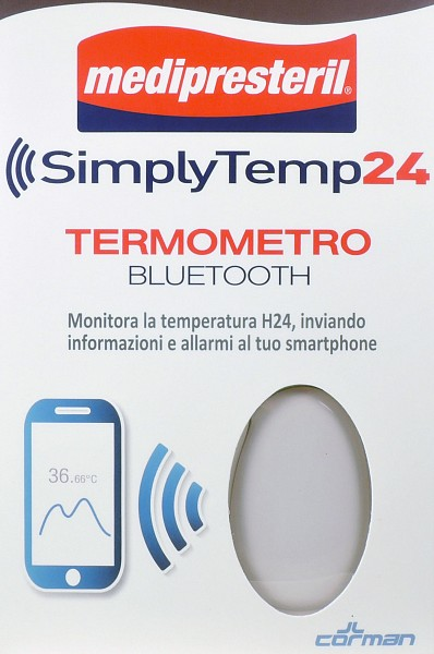 SIMPLYTEMP24 TERMOMETRO BLUETOOTH - Farmawing