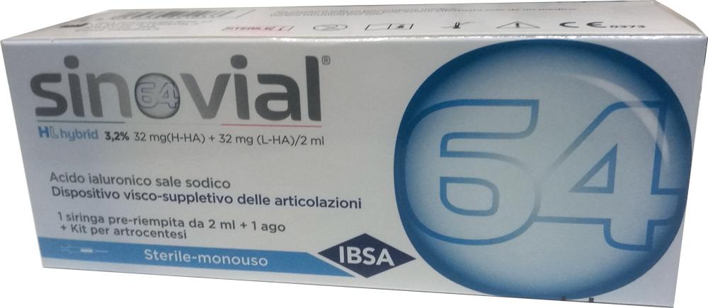 SINOVIAL HL SIR 3,2% 2ML - Farmacia Centrale Dr. Monteleone Adriano