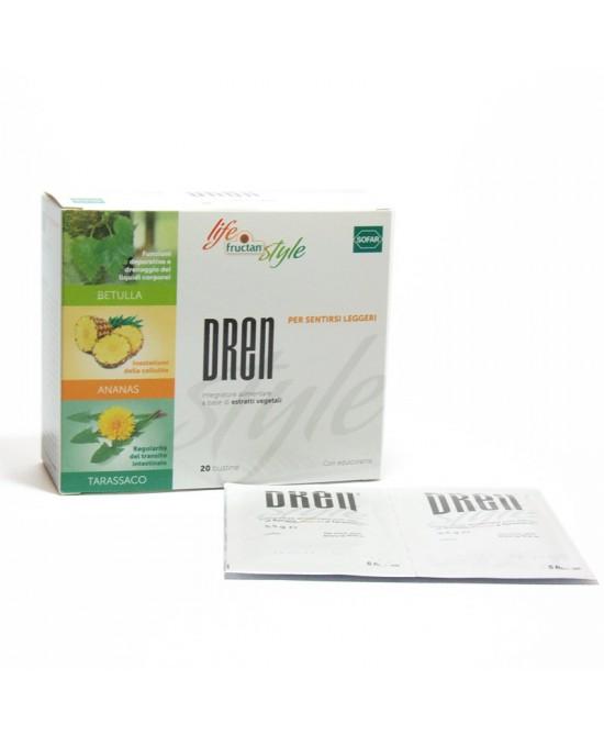 FRUCTAN DREN 20 Bustine - Farmapage.it