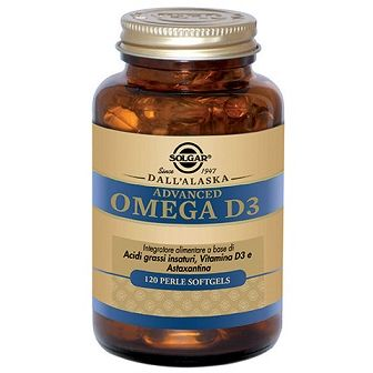 ADVANCED OMEGA D3 120 PERLE SOFTGELS - Farmafirst.it