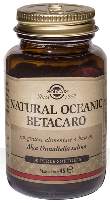 NATURAL OCEANIC BETACARO 60 PERLE - Farmacia Centrale Dr. Monteleone Adriano
