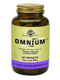 Solgar Omnium 60 Tavolette - Farmaciapacini.it
