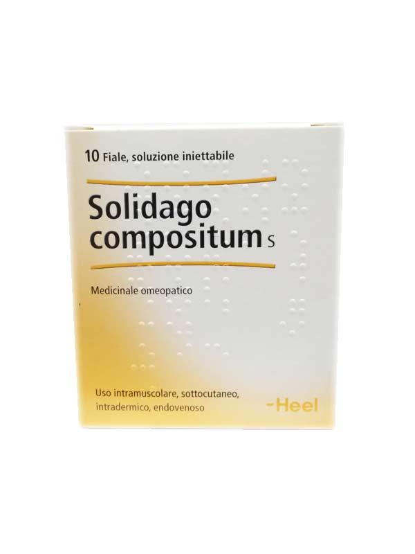 Solidago Compositum  10 Fiale Da 2,2ml - Farmalilla