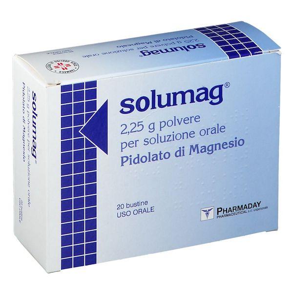 Solumag 2,25g Polvere per Soluzione orale 20 Bustine - Arcafarma.it
