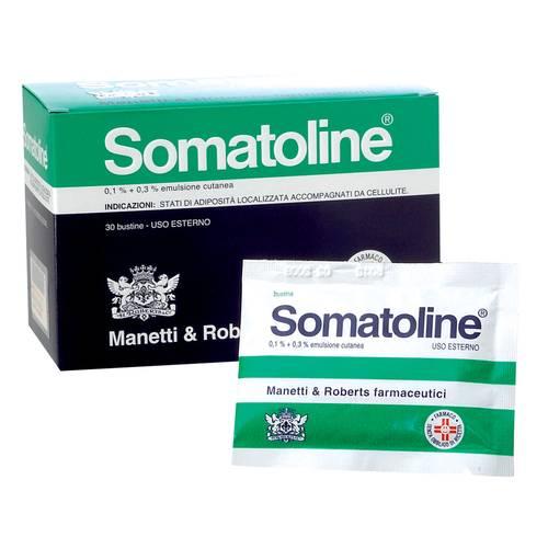 Somatoline 0,1% + 0,3% Emulsione Cutanea 30 Bustine - Farmapage.it