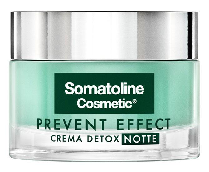 Somatoline Cosmetic Prevent Effect Crema Detox Notte 50 ml - Farmacielo