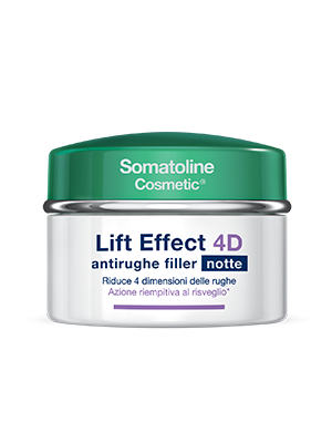 Somatoline Cosmetic Lift Effect 4D Antirughe Filler Viso Notte 50 ml - latuafarmaciaonline.it