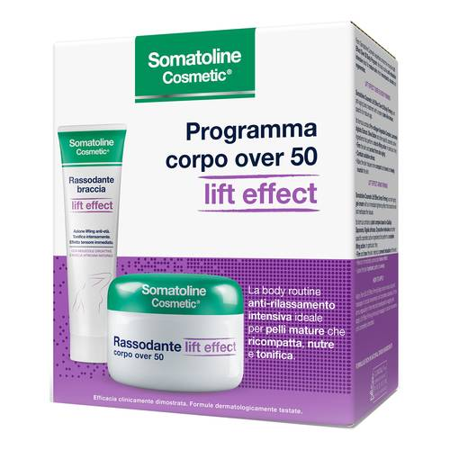 Somatoline Cosmetic Cofanetto Rassodante Over 50 + Rassodante Braccia prezzi bassi
