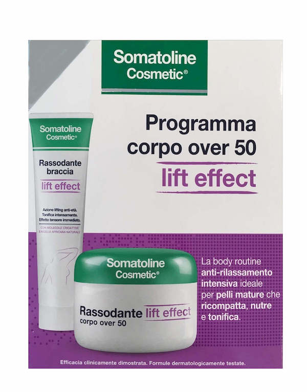 Somatoline Cosmetic Programma Rassodante Lift Effect Over 50 Corpo 300ml + Rassodante Braccia 75ml - Arcafarma.it