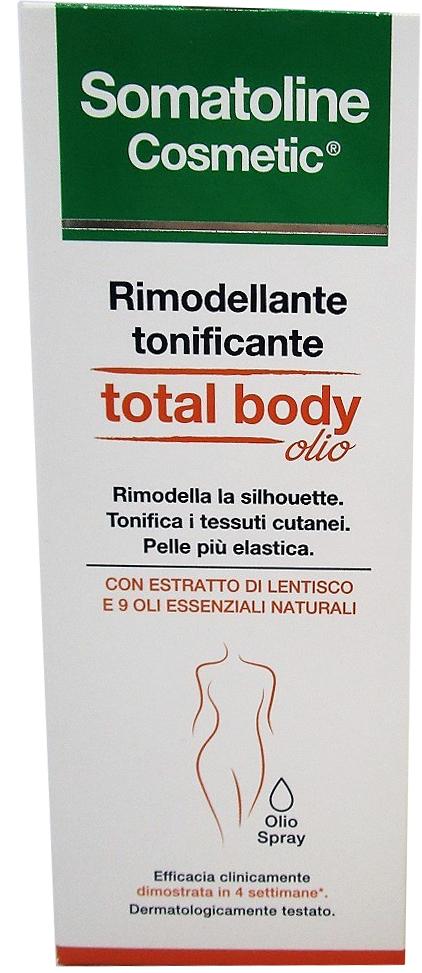 SOMATOLINE COSMETIC RIMODELLANTE TOTALE BODY OIL 125 ML - Farmacia Centrale Dr. Monteleone Adriano
