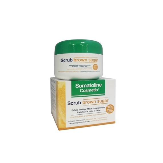 SOMATOLINE COSMETIC SCRUB BROWN SUGAR 350 G - FARMAPRIME