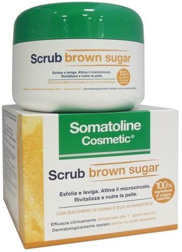 SOMATOLINE COSMETIC SCRUB BROWN SUGAR 350 G - Farmacia Centrale Dr. Monteleone Adriano