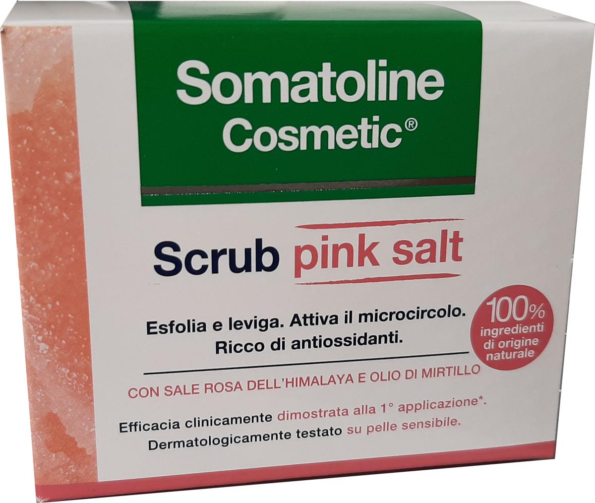 SOMATOLINE COSMETIC SCRUB PINK SALT 350 ML - Farmacia Centrale Dr. Monteleone Adriano