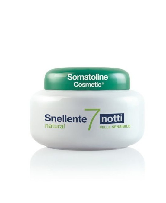 SOMATOLINE COSMETIC SNEL 7 NOTTI NATURAL 400 ML - Farmaci.me