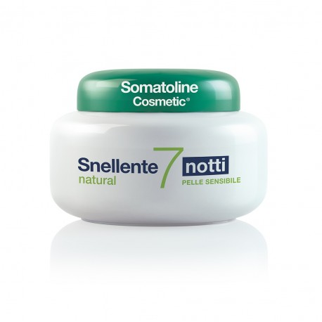 SOMATOLINE COSMETIC SNELLENTE  7 NOTTI NATURAL 400 ML - FARMAPRIME