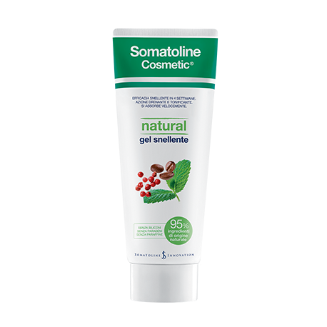 SOMATOLINE COSMETIC SNELLENTE NATURAL GEL 250 ML - Zfarmacia