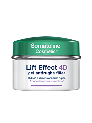 Somatoline Cosmetic Lift Effect 4D Gel Antirughe Filler Viso 50ml - La tua farmacia online
